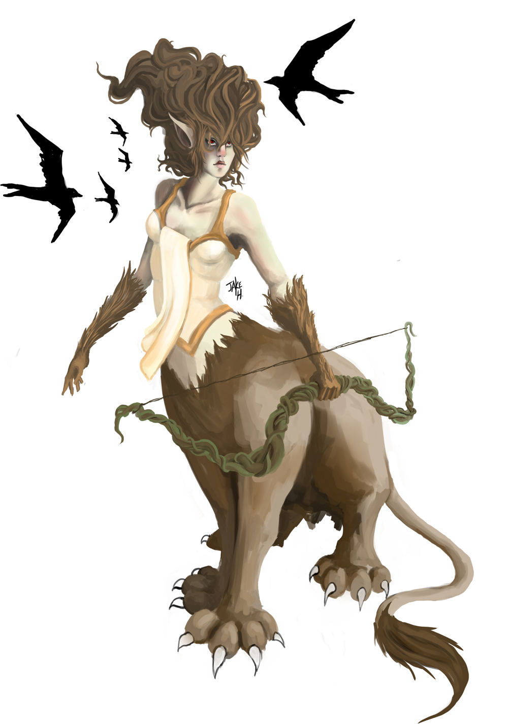 Lion Huntress
