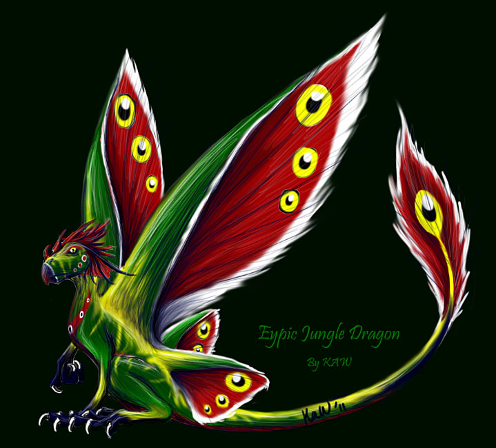 Eypic Jungle Dragon
