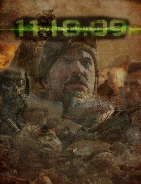 Modern Warfare 2 Poster