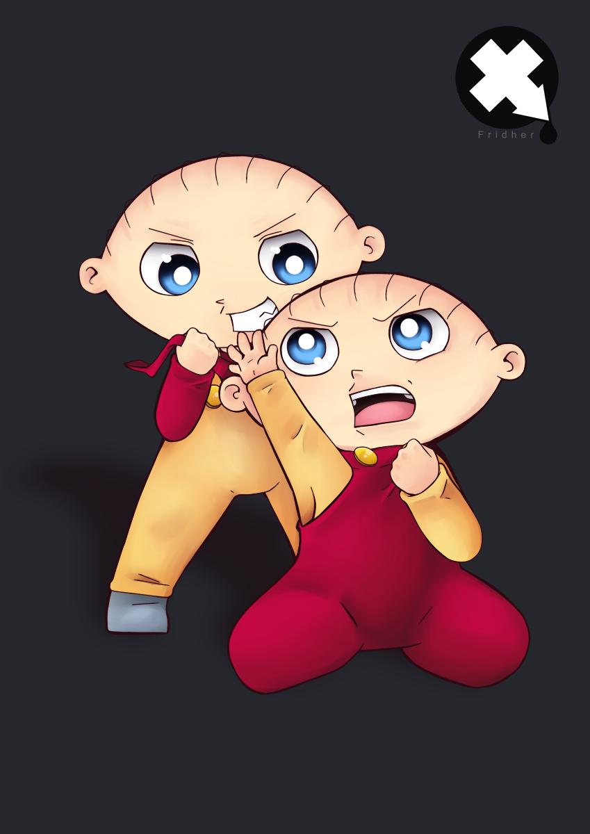 Stewie vs Evil Stewie