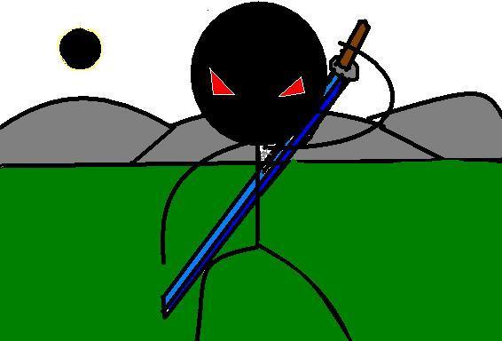 stickman ninja red-eyes