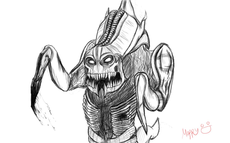 Hydralisk Sketch