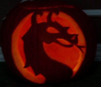 Mortal Kombat Pumpkin