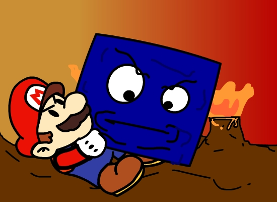 Mario vs Thomp in Hell