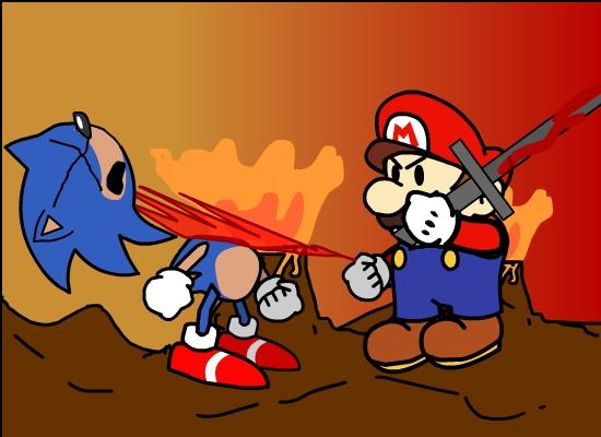 Sonic Dies in Hell