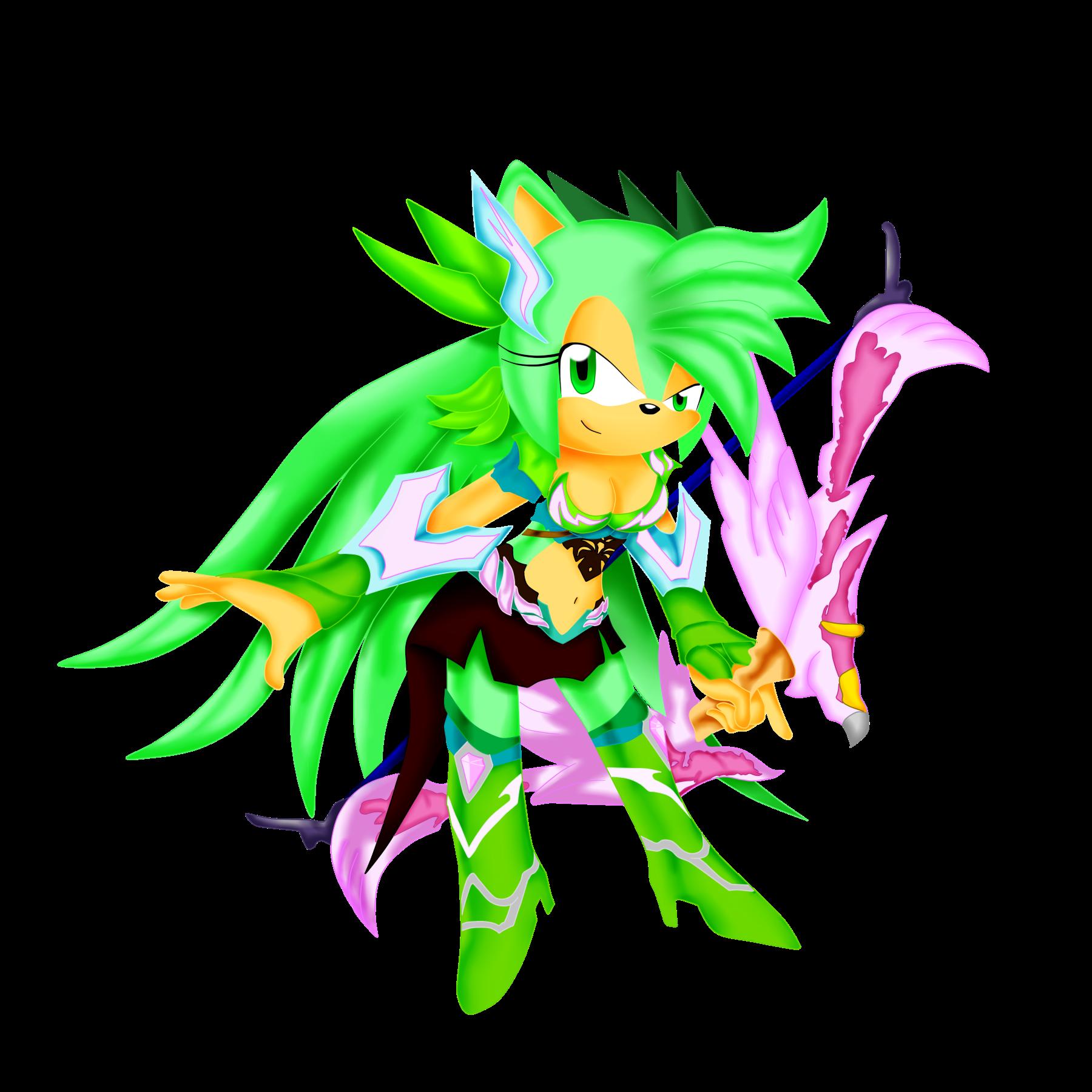 Elf Mu Online Sonic Style