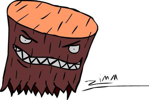 Treestump Monster