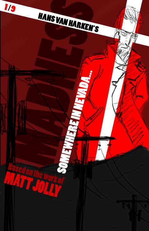 Madness Comic Cover Test1