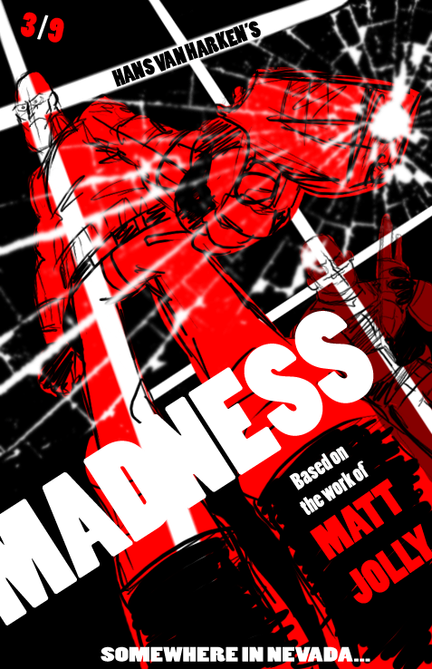 Madness Comic Cover Test3