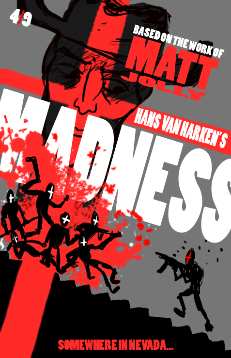 Madness Comic Cover Test4
