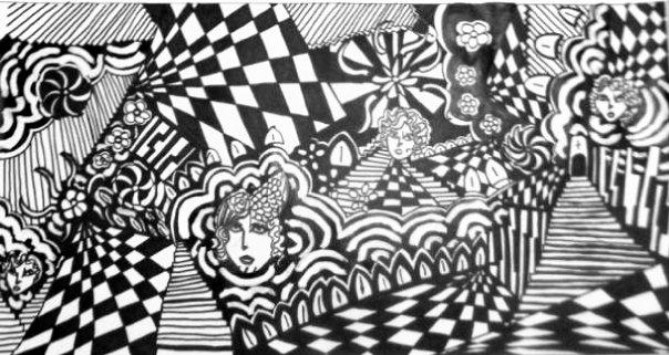 Inside Madge Gill's Head