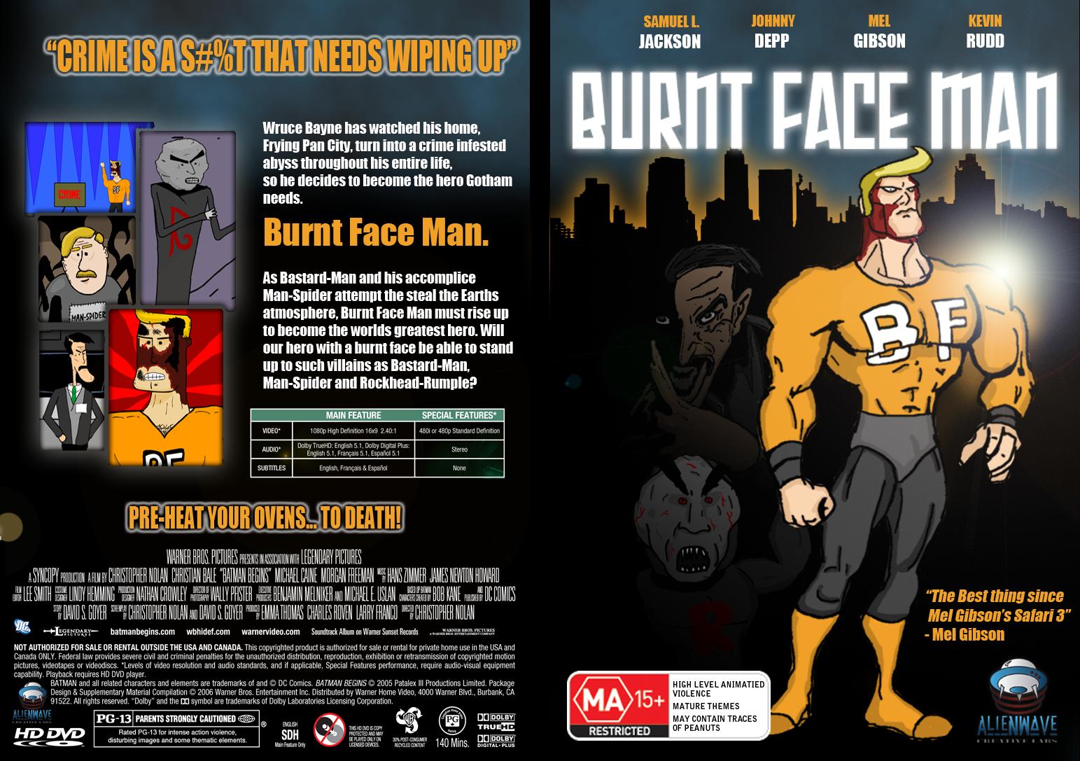 Burnt Face Man DVD