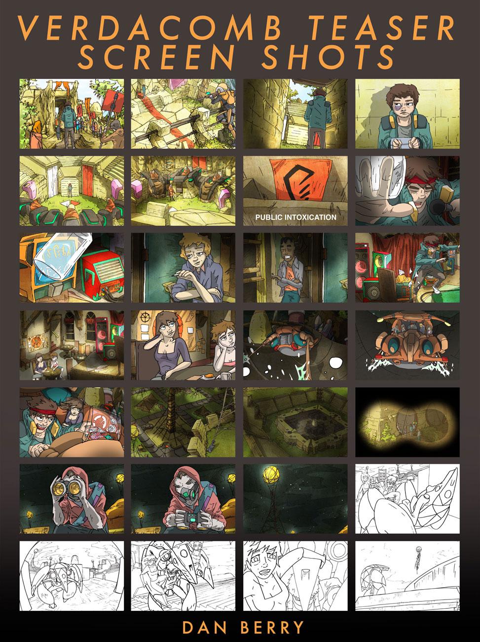 VERDACOMB Screen Shots