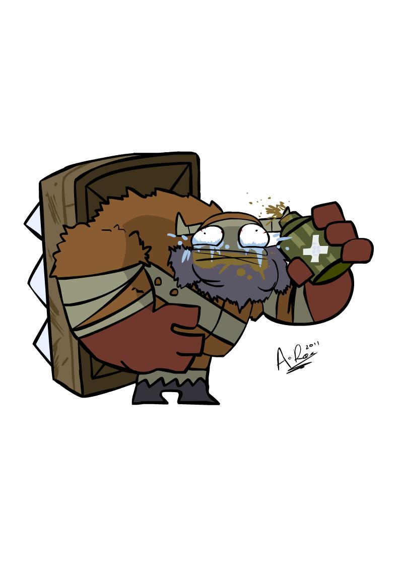 Castle Crashers: Barbarian