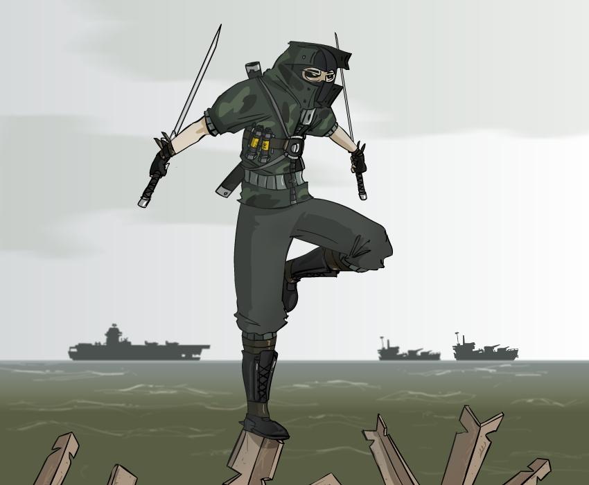 Commando Shinobi
