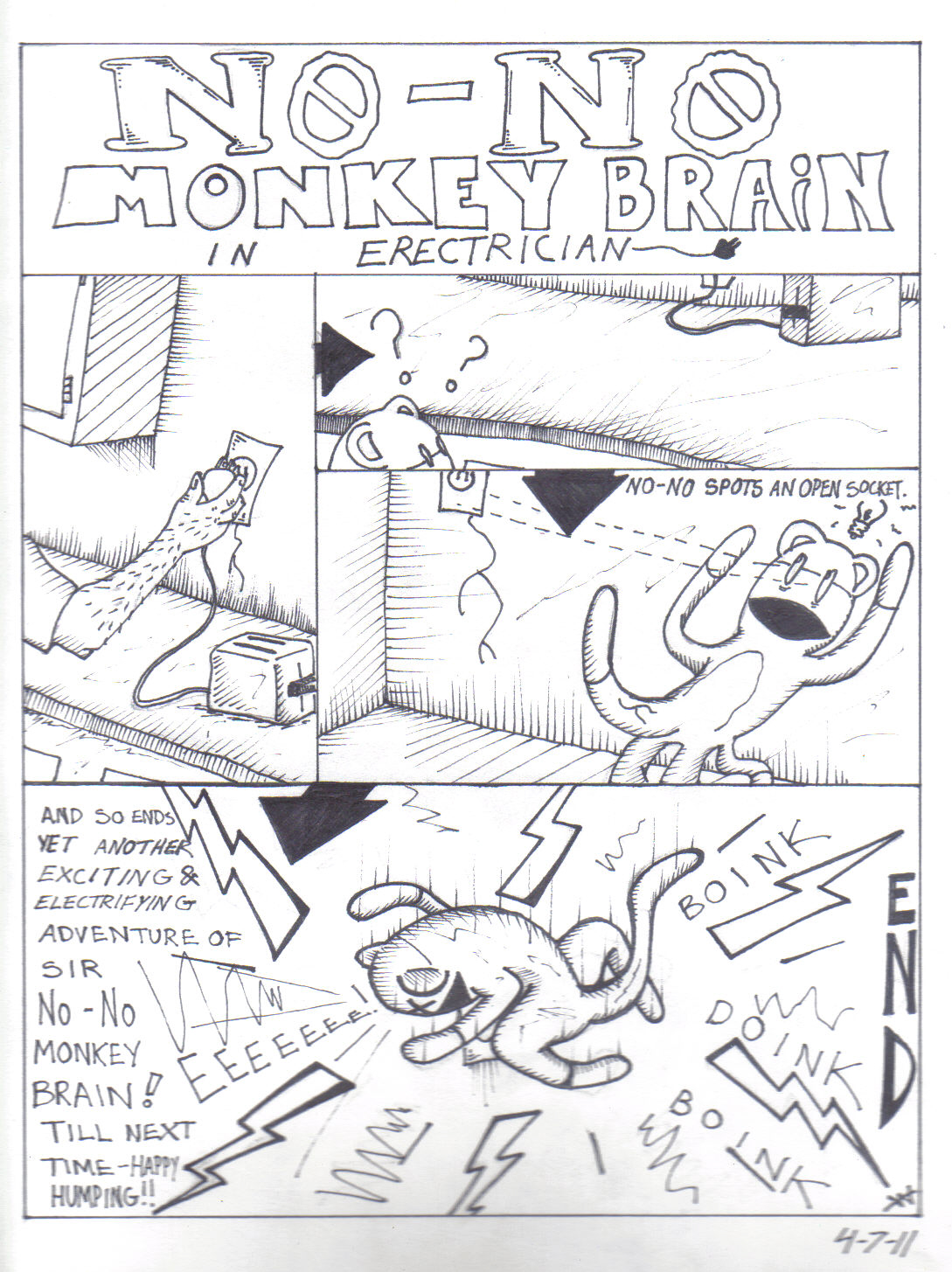 No-No Monkey Brain no 2
