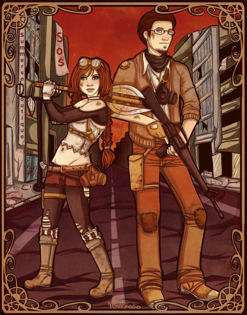 Post-Apocalyptic Siblings