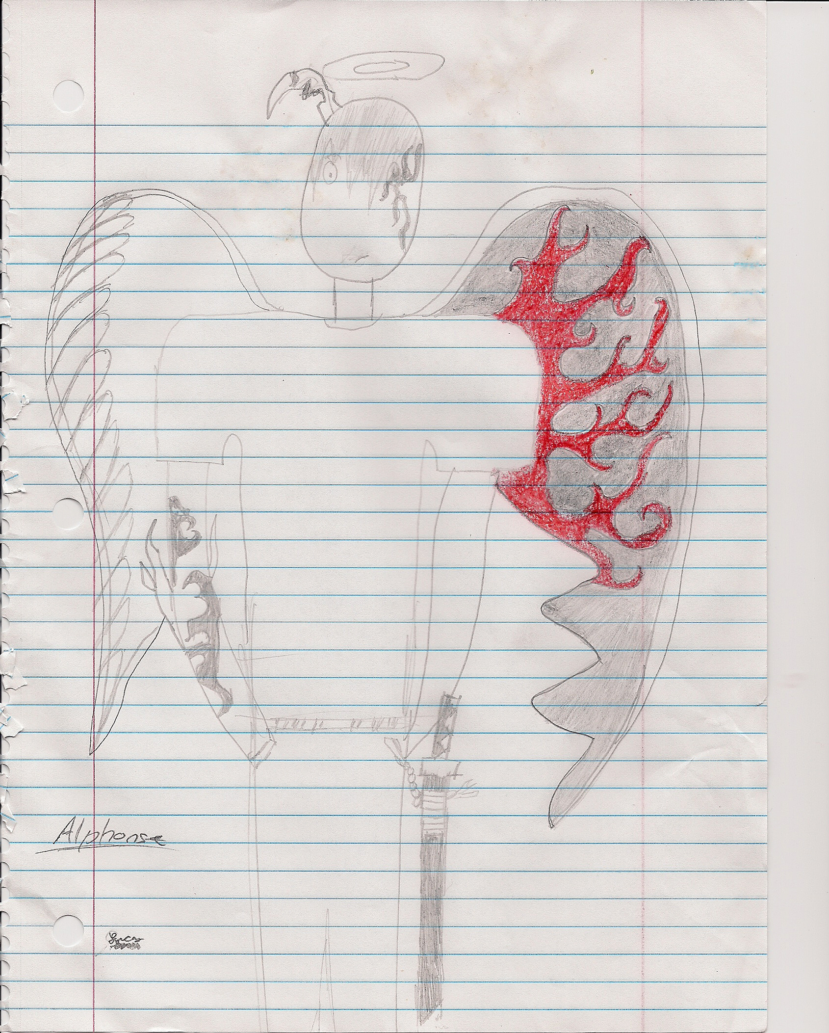 Alphonse (demon angel form)