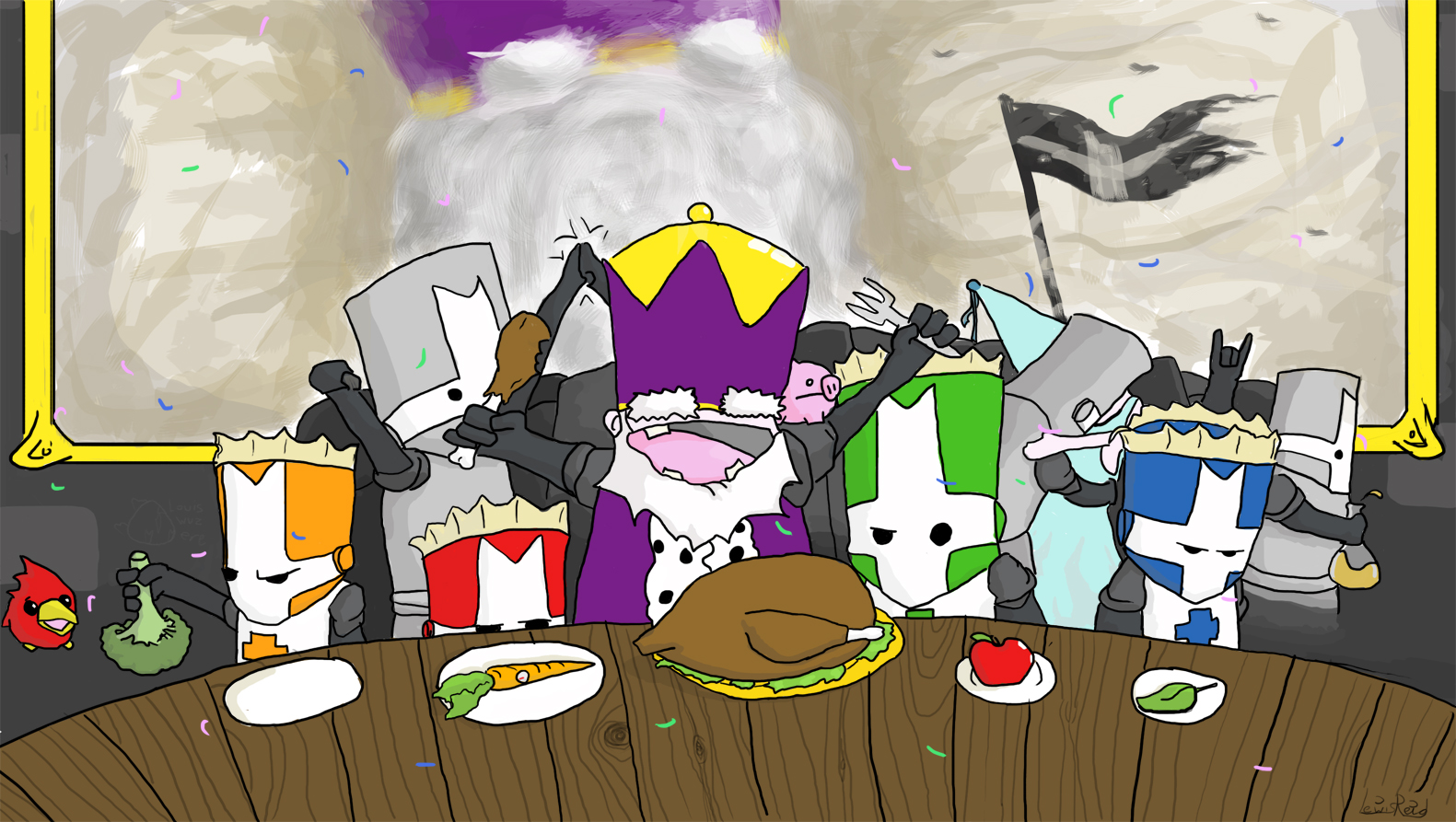 Castle Crashers Epic Dinner