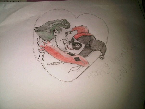 Valentines Harley & Joker