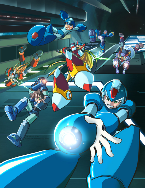It's Raining Mega Men!