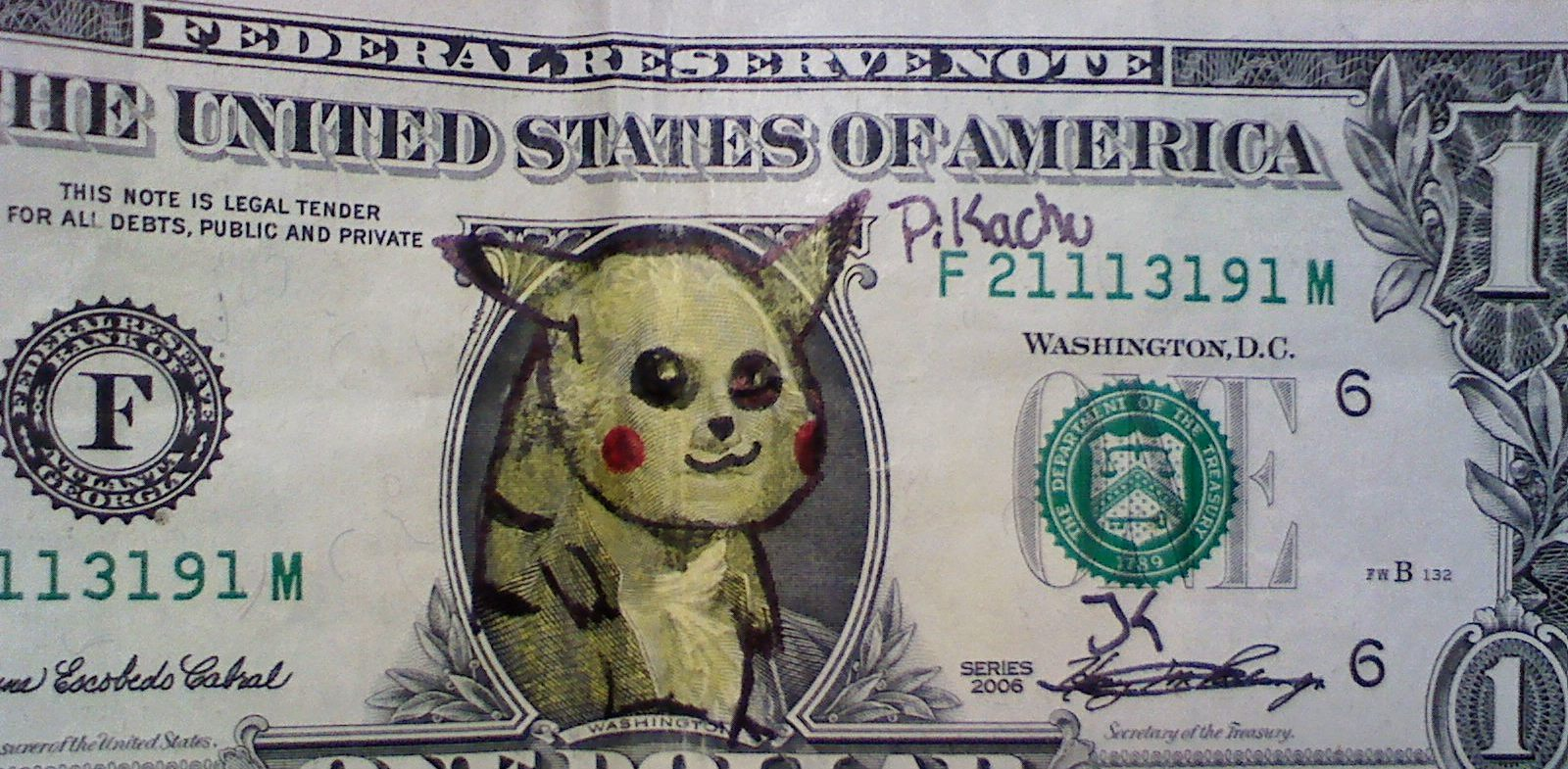 President Pikachu