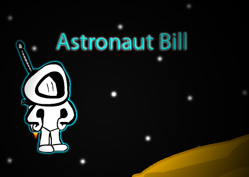 Astronaut Bill Concept Art