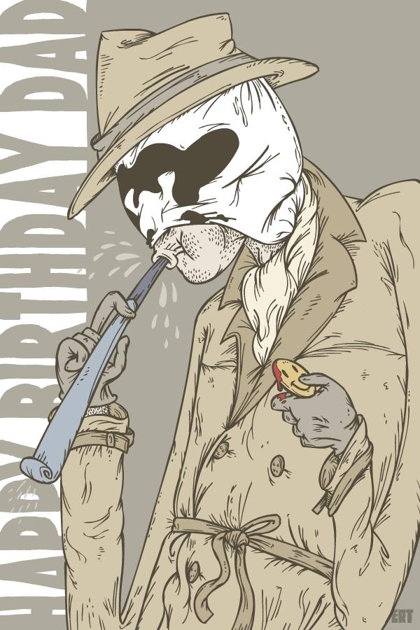 Rorschach's Birthday Message