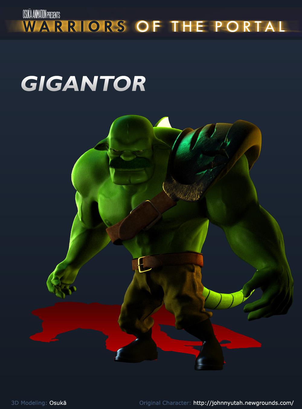 3D Gigantor