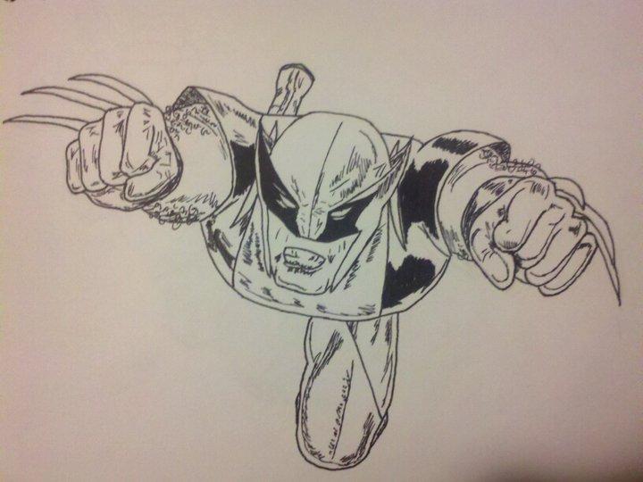 Inked Wolverine