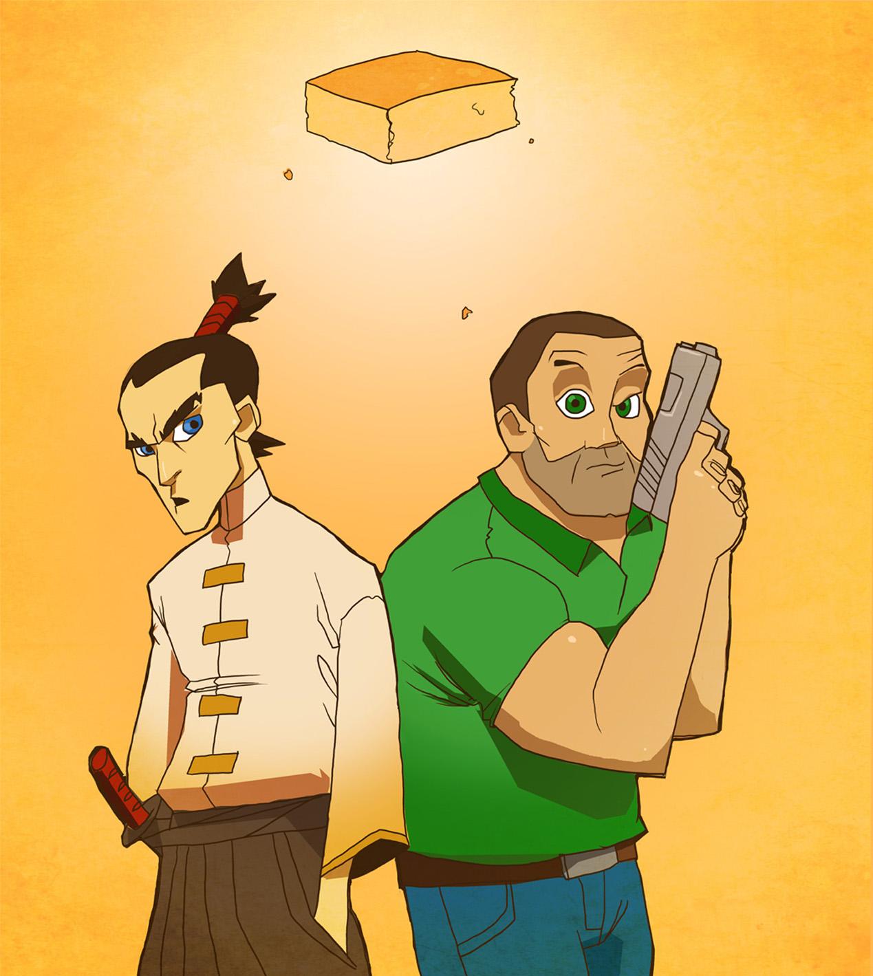 Cornbread Samurai fr Pico day