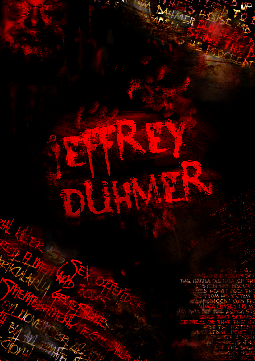 Typography - Jeffrey Dahmer