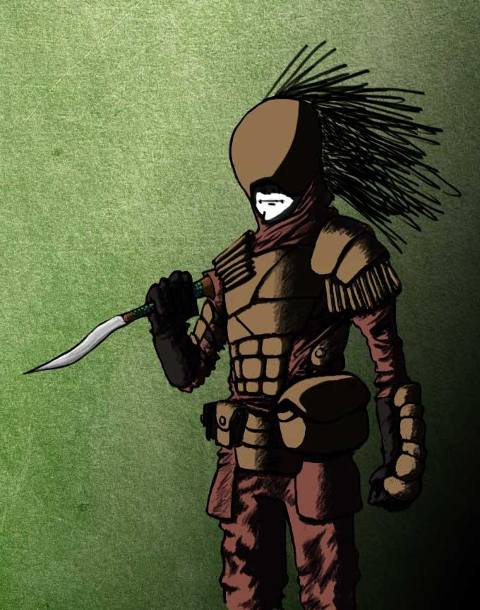 Tribal Warrior of Dustland