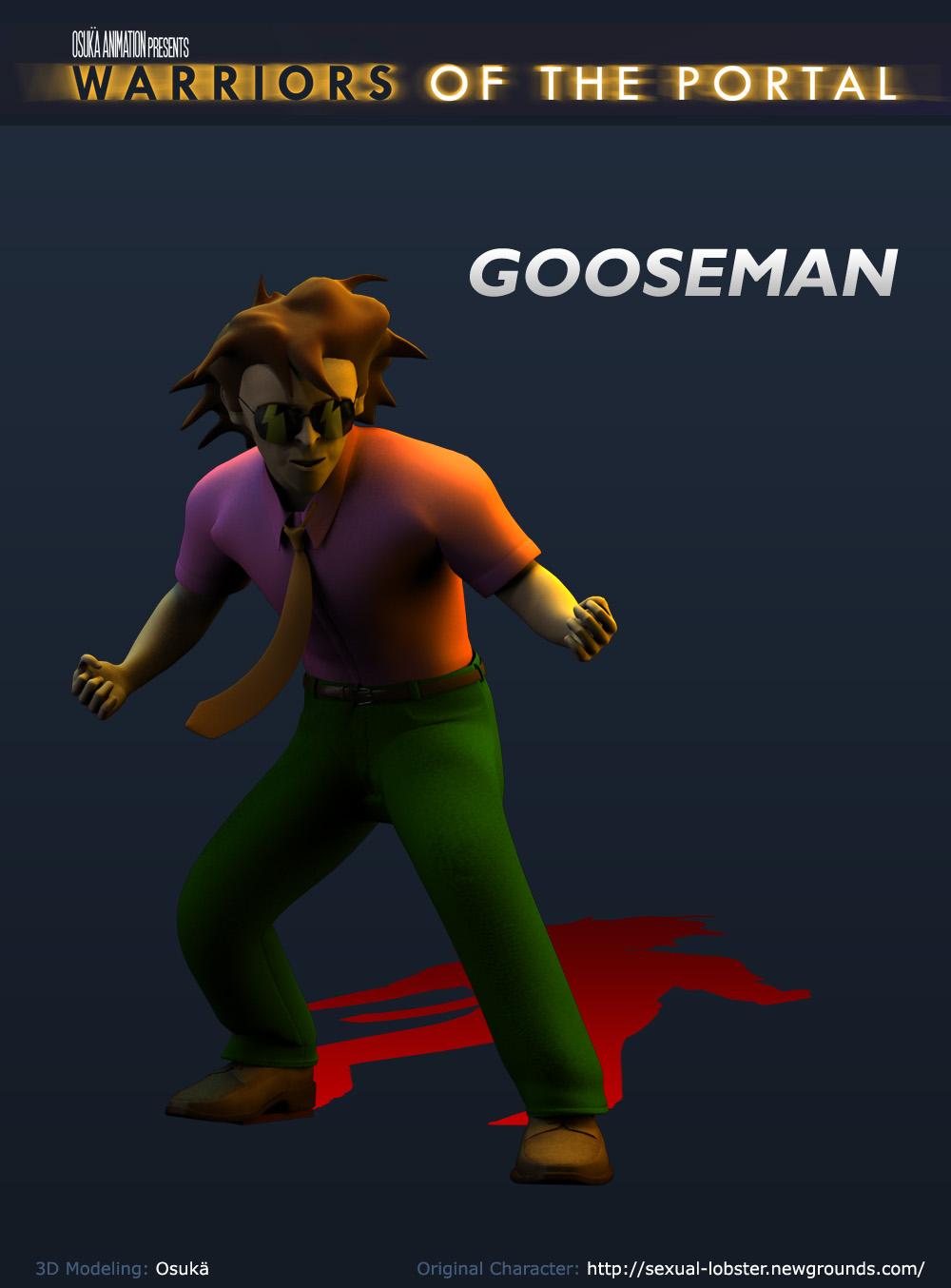 3D Gooseman
