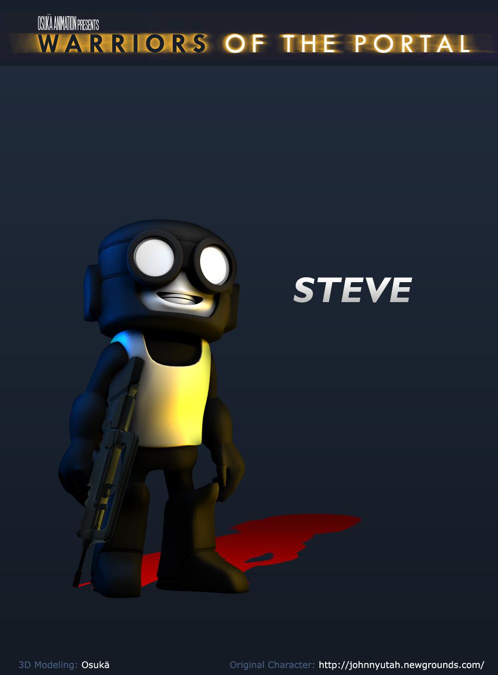 3D Steve