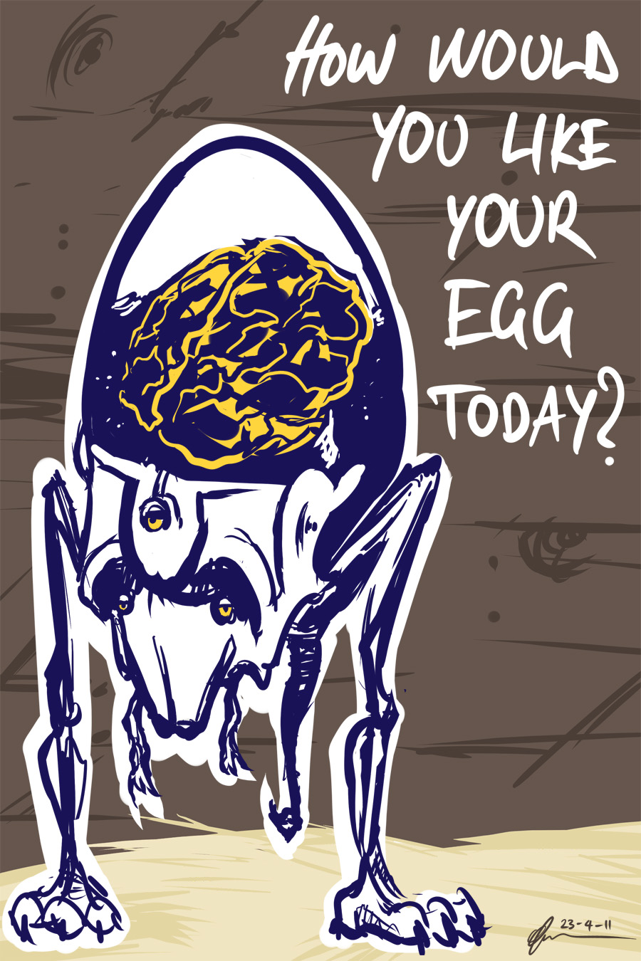 How Would You Like Your Egg.
