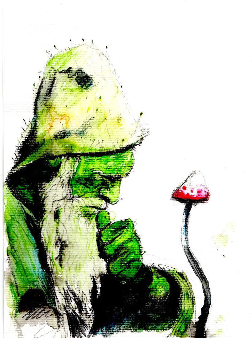 Green Man in Thought