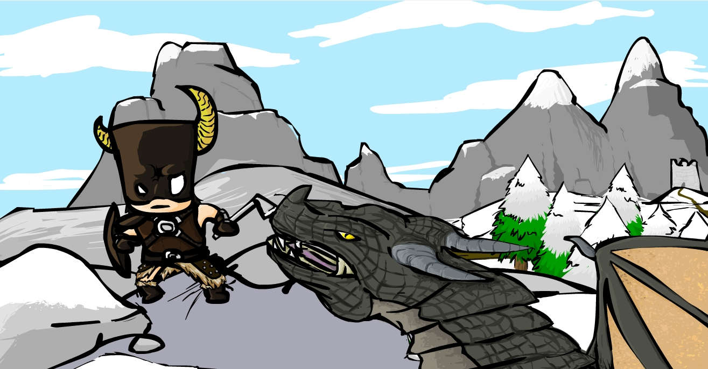 Dovahkiin dragonborn!