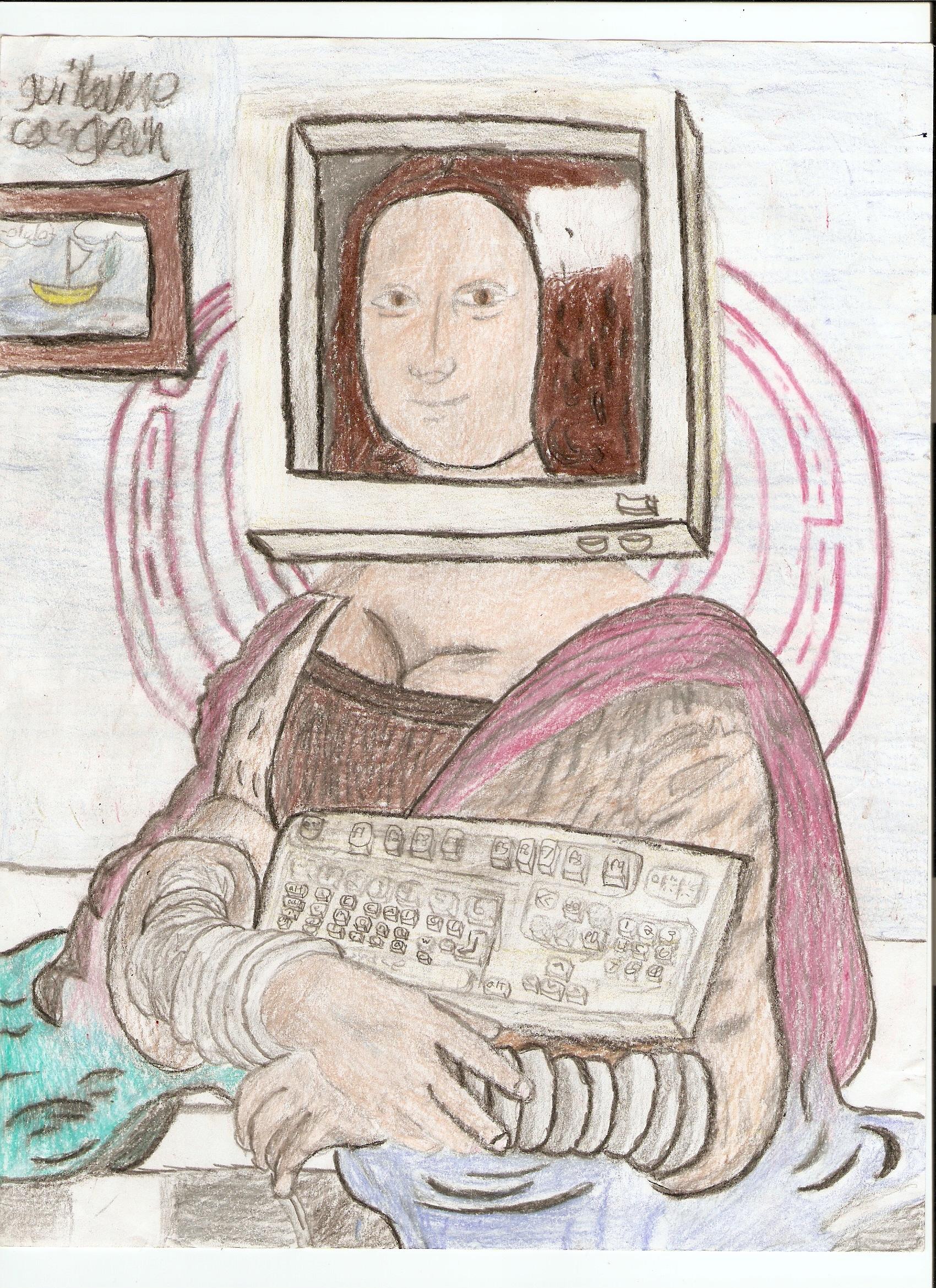 Mona Lisa remake