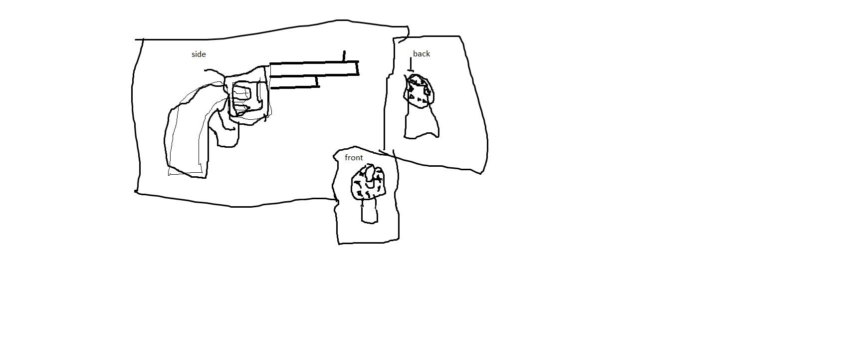 gun draw #1 revolver