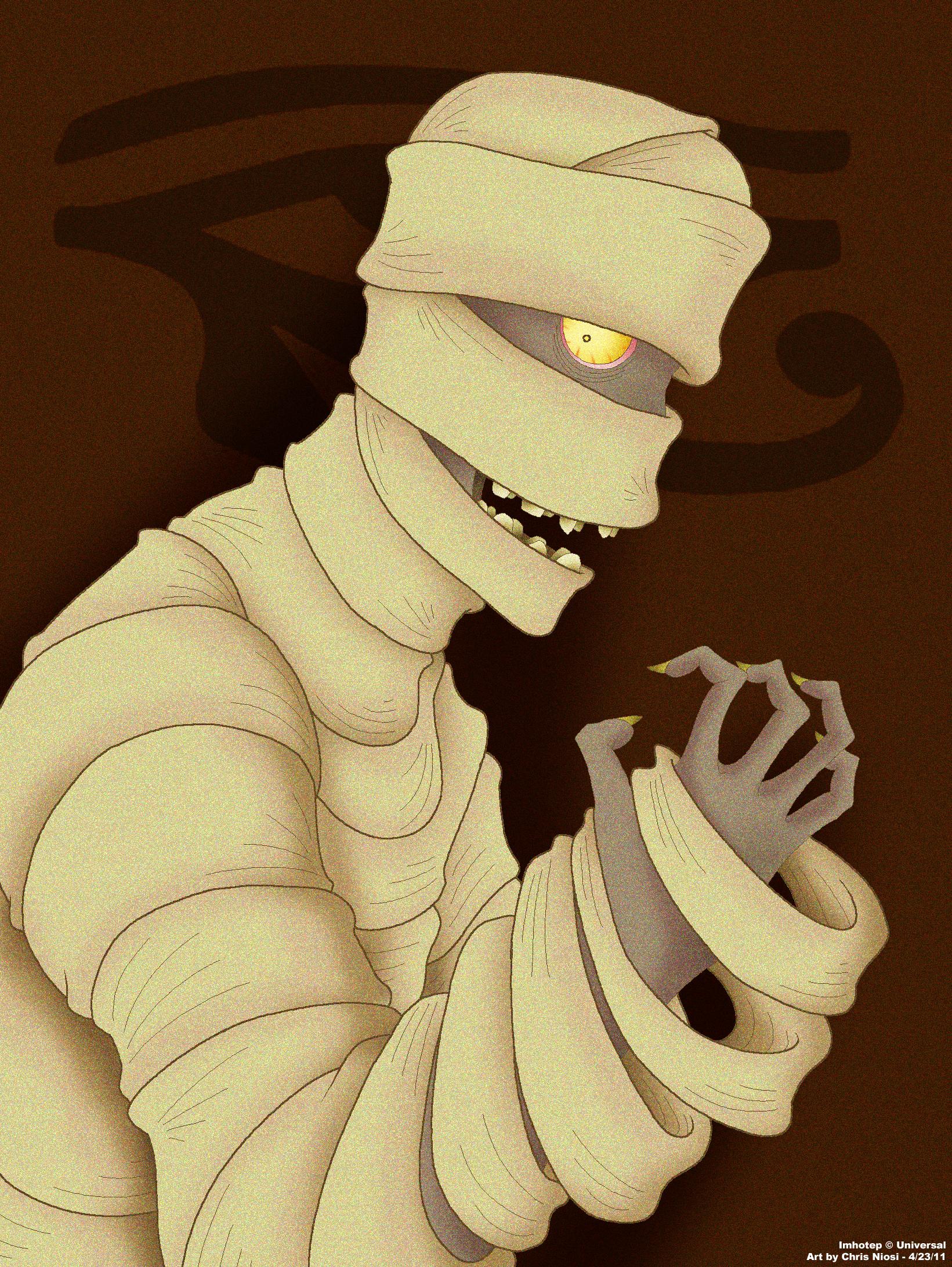 Horror Triad: Mummy Imhotep