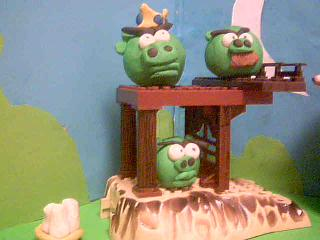 Angry Birds In CLAY!!!