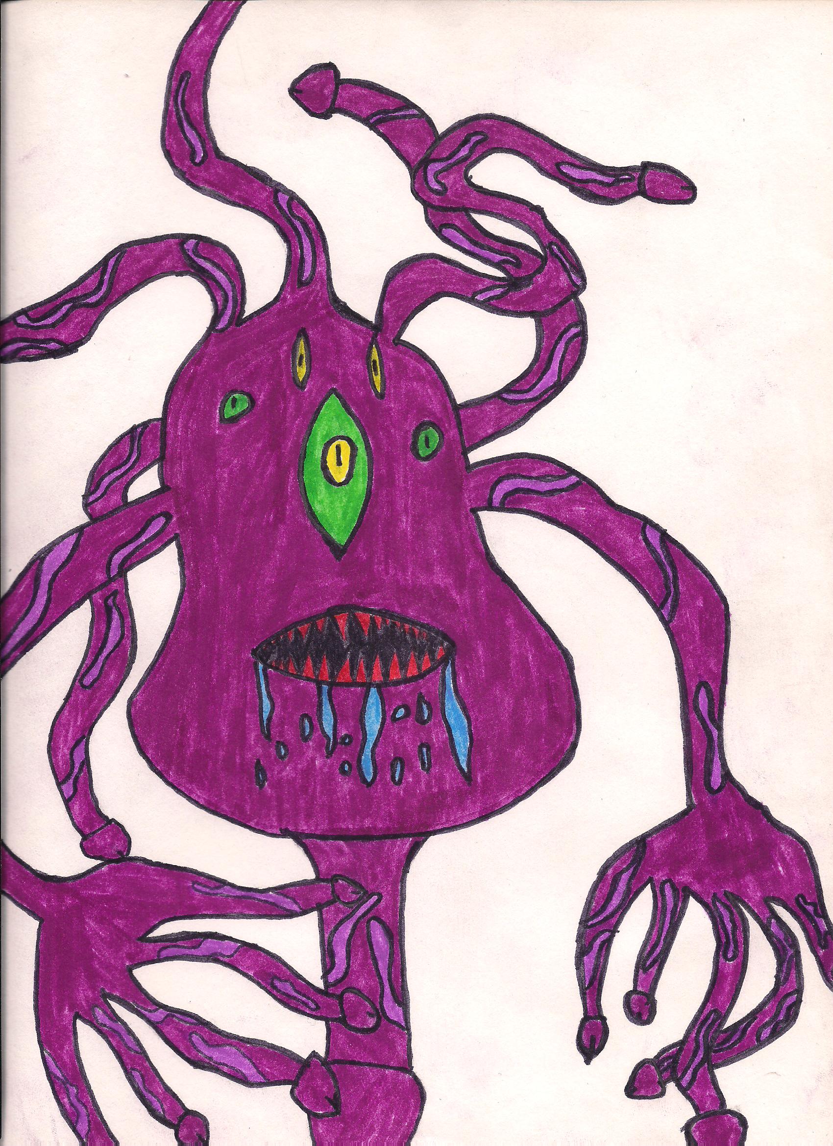 Tenty monster