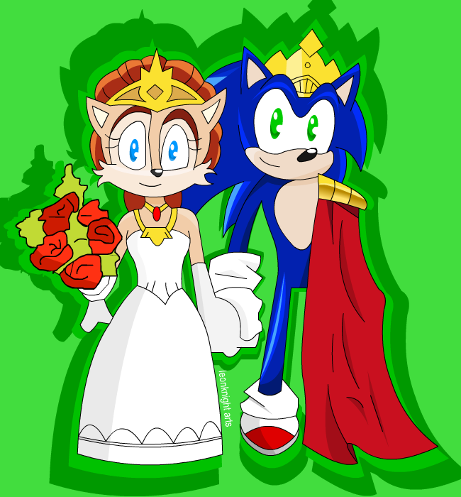 King sonic and queen sally
