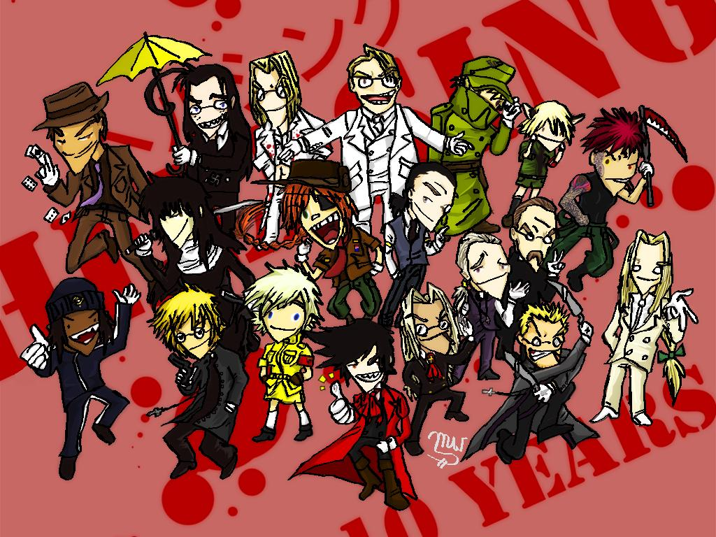 Hellsing Ultimate Cast
