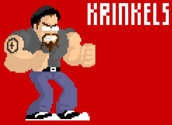 Pixeled Krinkels