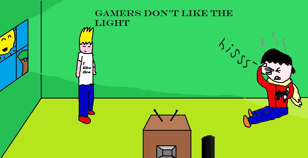 I don't like the light