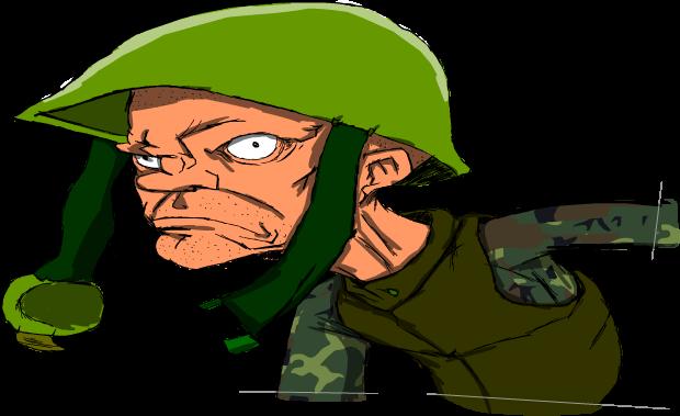 straight soldier