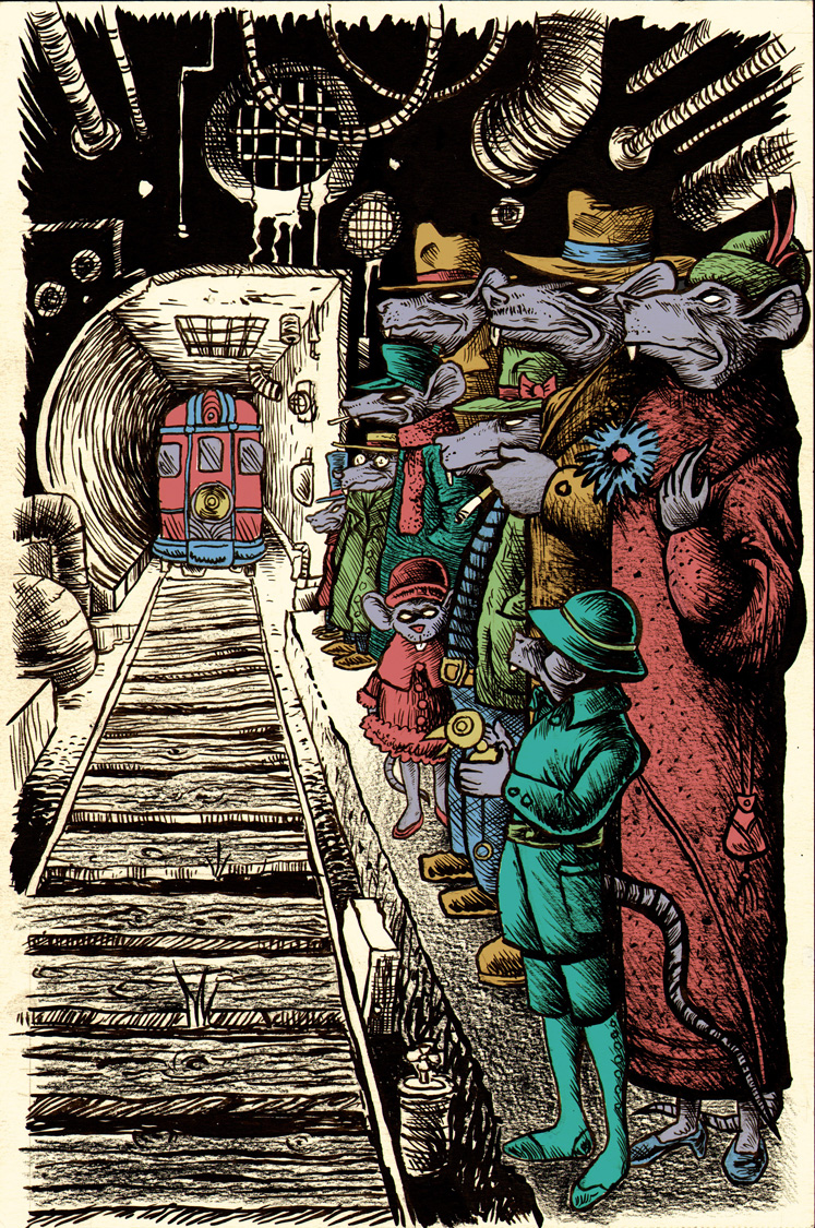 Subway Rats
