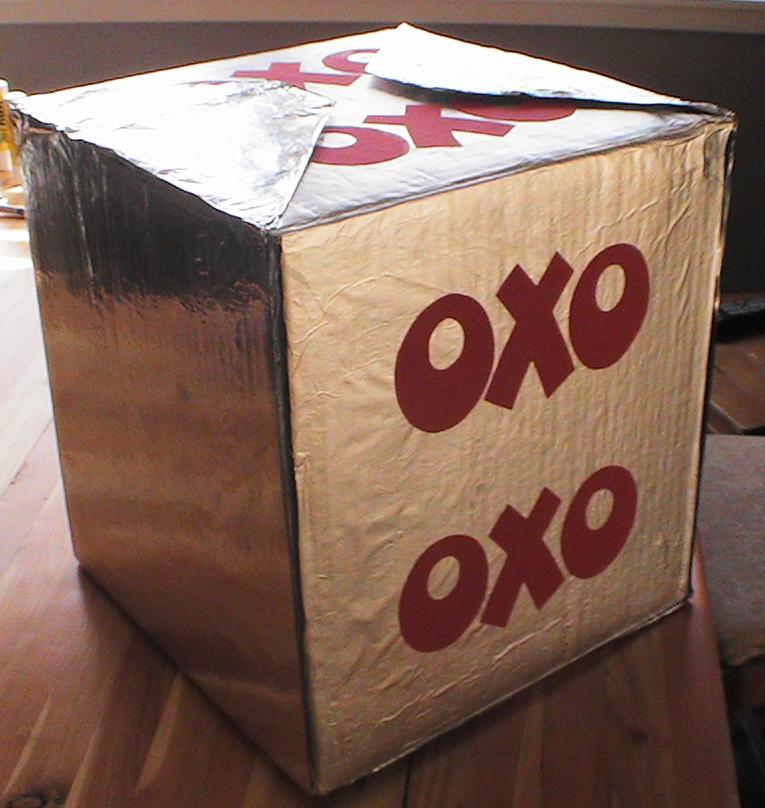 Oversized Novelty Stock Cube